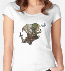Skyim-Legend of Zelda Women's Fitted Scoop T-Shirt