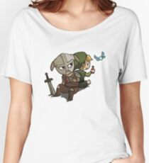 Skyim-Legend of Zelda Women's Relaxed Fit T-Shirt