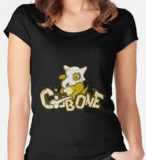 Pewter City Cubone Women's Fitted Scoop T-Shirt