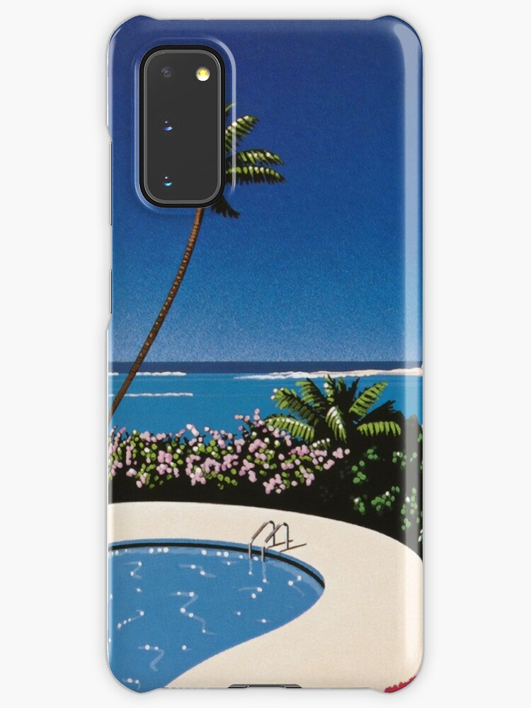 Hiroshi Nagai Art Print Poster Vaporwave Aesthetic Wallpaper T Shirt Case Skin For Samsung Galaxy By Coolhiphoptees Redbubble