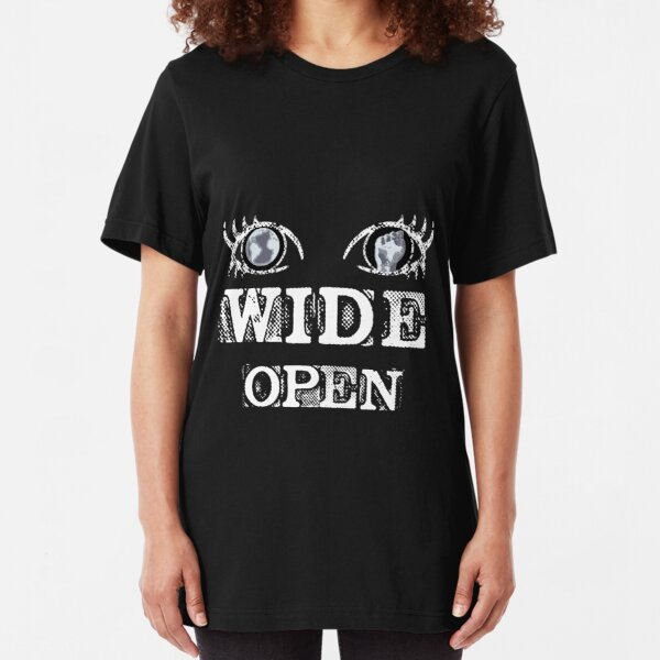 Eyes Wide Open - WHITE Slim Fit T-Shirt