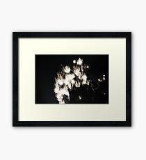 """Fire Works 1""  by Carter L. Shepard Framed Print"