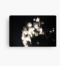 """""""Fire Works 1""""  by Carter L. Shepard Canvas Print"""