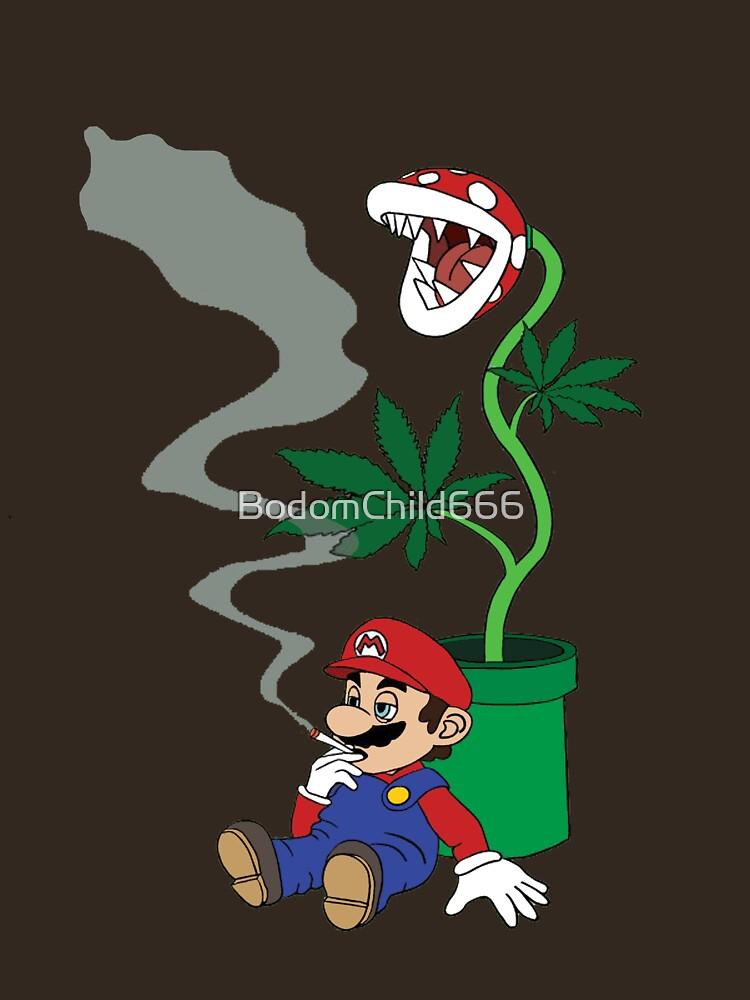 Super Pothead Mario | Unisex T-Shirt