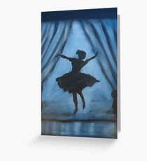 """Dance Like No One's Watching ""  by Carter L. Shepard Greeting Card"