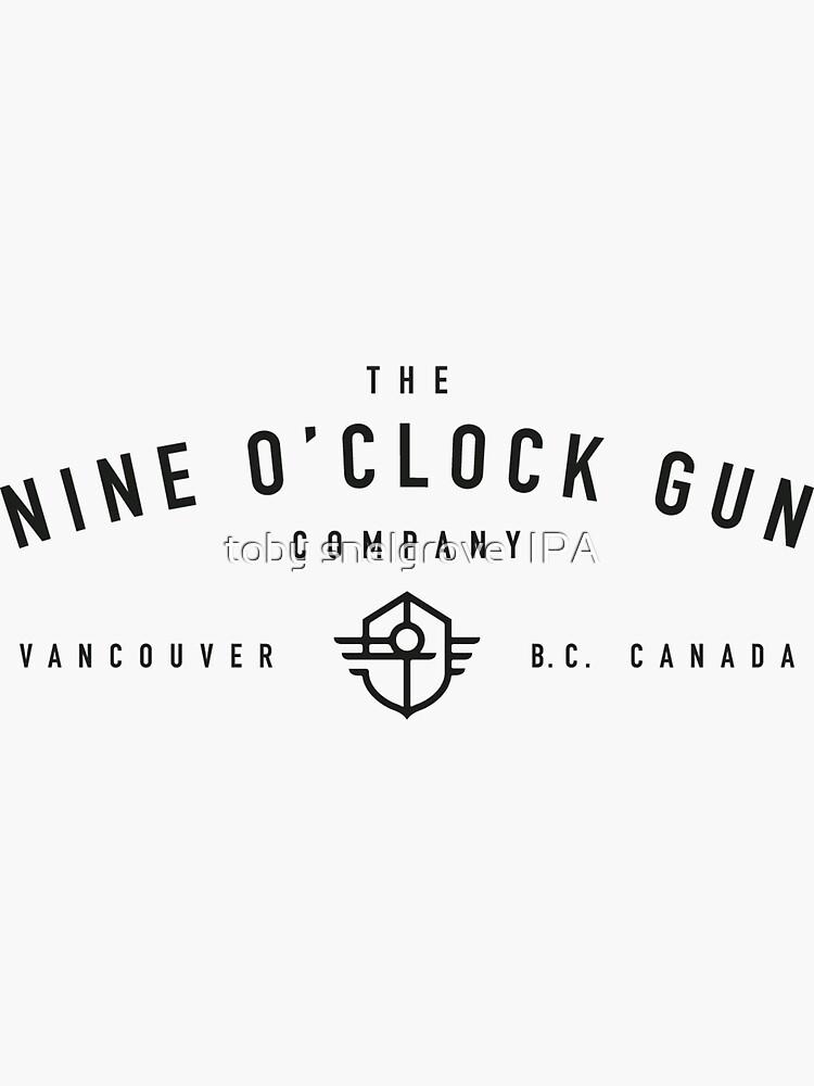 Nine O'clock Gun COVID Mask by tobysnelgrove