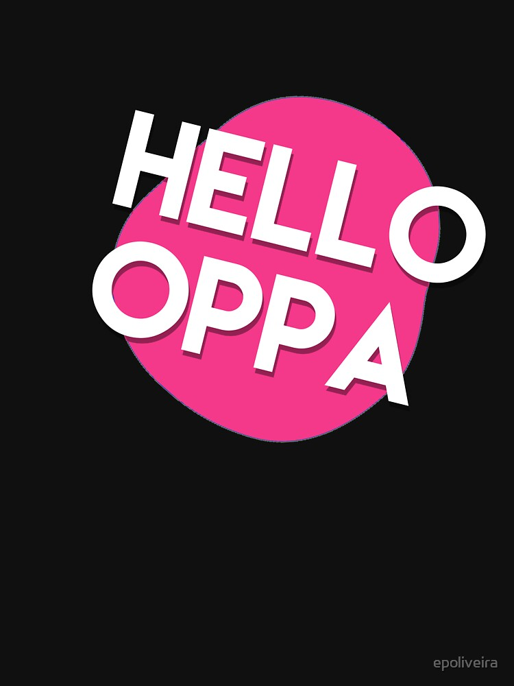 Hello oppa cute graphic by epoliveira