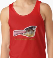 Not your average fish finger Tank Top