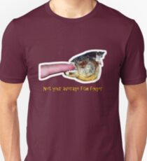 Not your average fish finger Unisex T-Shirt