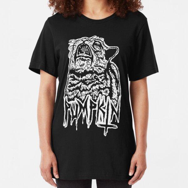 Grim and Necro Kitty Slim Fit T-Shirt