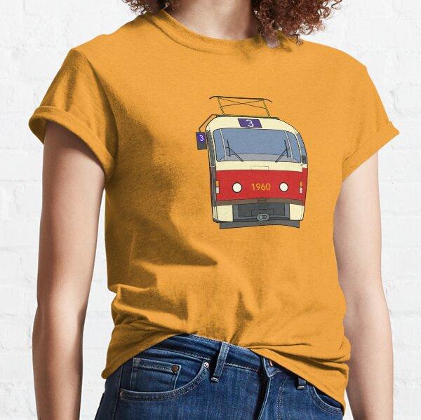 Prague Tram (T3) Classic T-Shirt