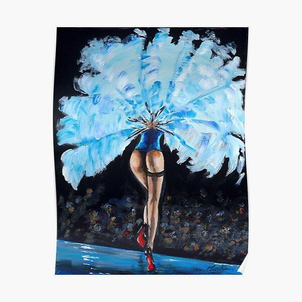Burlesque - Derrier in Blue Poster
