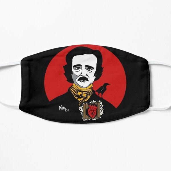 Edgar Allan Poe Mascarilla plana
