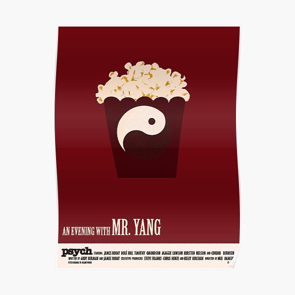 Psych - An Evening With Mr. Yang Poster