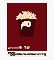 Psych - An Evening With Mr. Yang Photographic Print