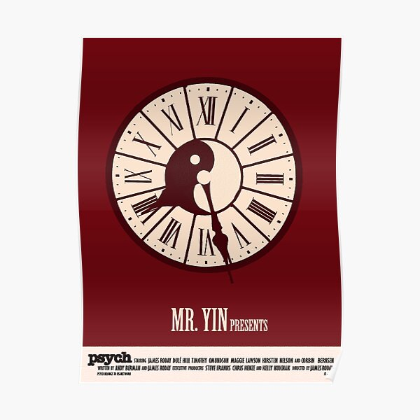 Psych - Mr. Yin Presents Poster