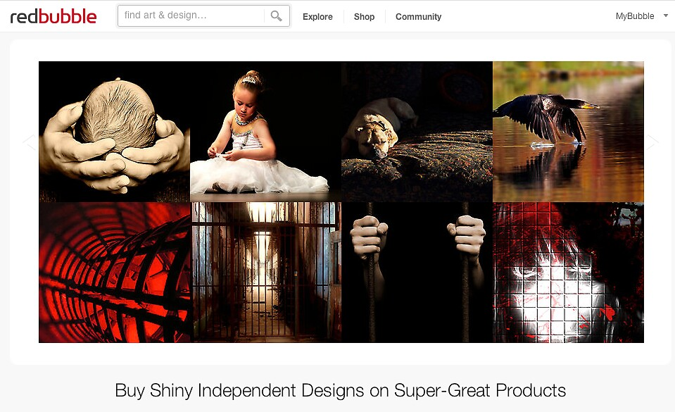 8 July 2012 by The RedBubble Homepage
