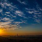 Sunset over Pretoria #2 by Rudi Venter