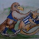 AFL NOVELTY PRINTS  by dallys