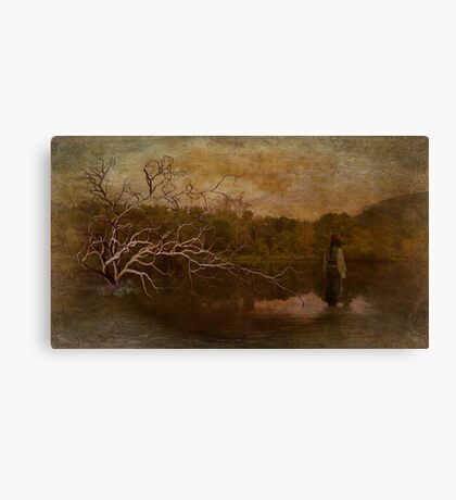 Thinking of Trees Canvas Print
