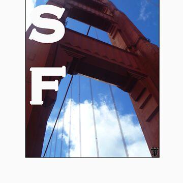 SF Golden Gate by HammerandTong
