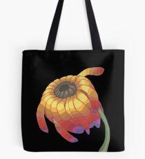 Rainbow Flower Tote Bag