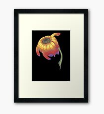 Rainbow Flower Framed Print