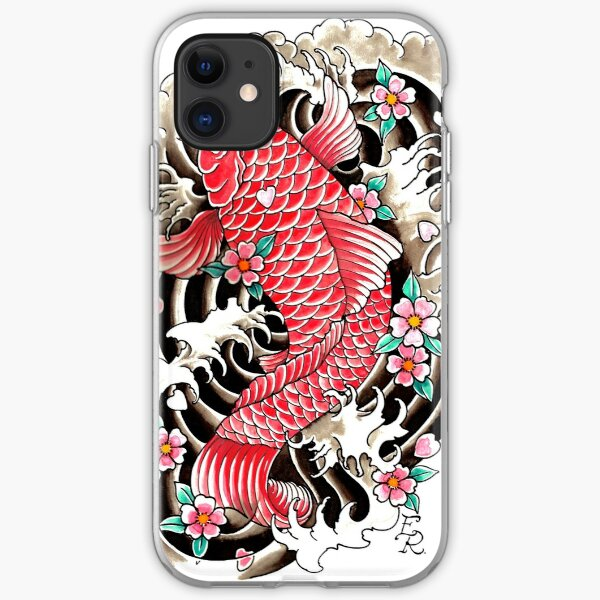 Red Koi iPhone Soft Case