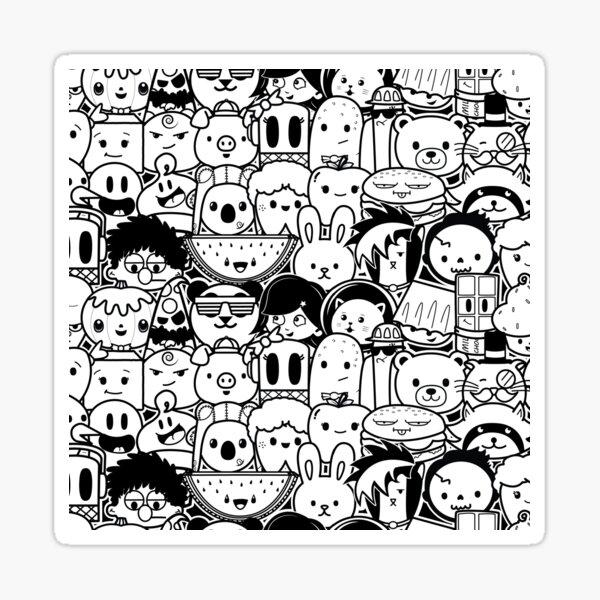 Whiteout  Sticker