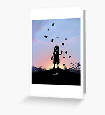 Joker Kid Greeting Card