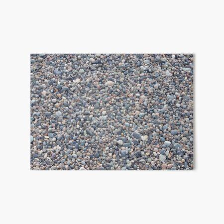 Seeleys Cove Beach Stones #9, New Brunswick Art Board Print