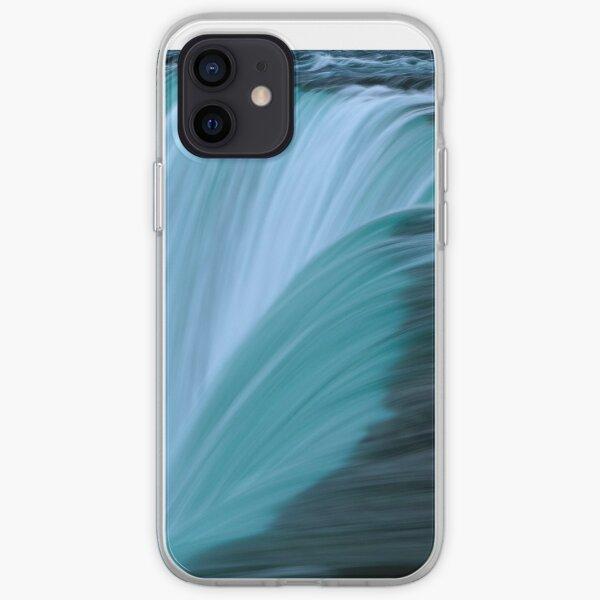 Horseshoe Falls - Turquoise iPhone Soft Case