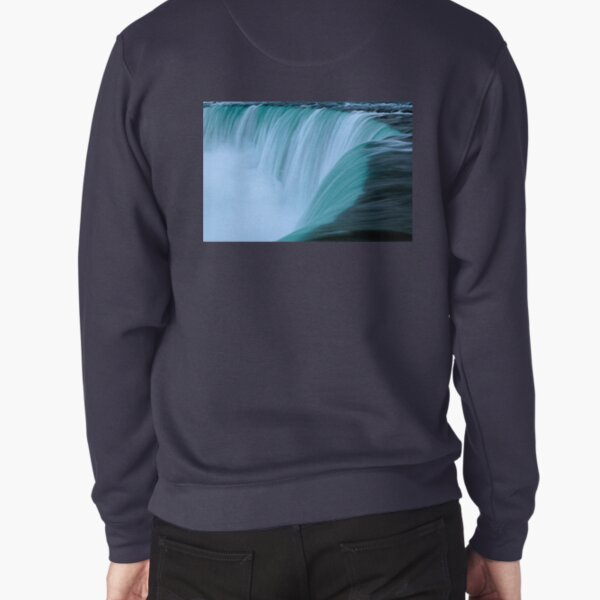 Horseshoe Falls - Turquoise Pullover Sweatshirt