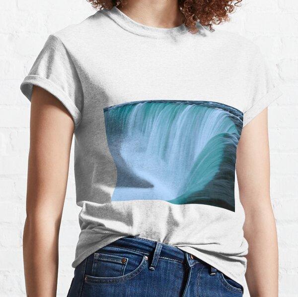 Horseshoe Falls - Turquoise Classic T-Shirt