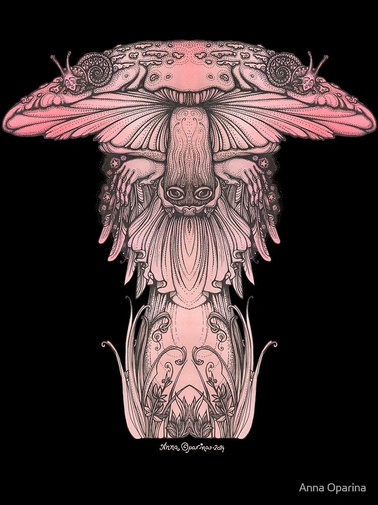 Amanita muscaria by Oparina