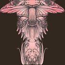 Amanita muscaria by Anna Oparina