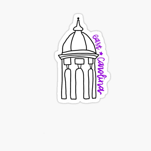 East Carolina Copula Sticker