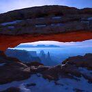 Moonlit Mesa by Chad Dutson