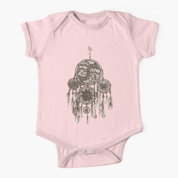 Dreamcatcher Short Sleeve Baby One-Piece