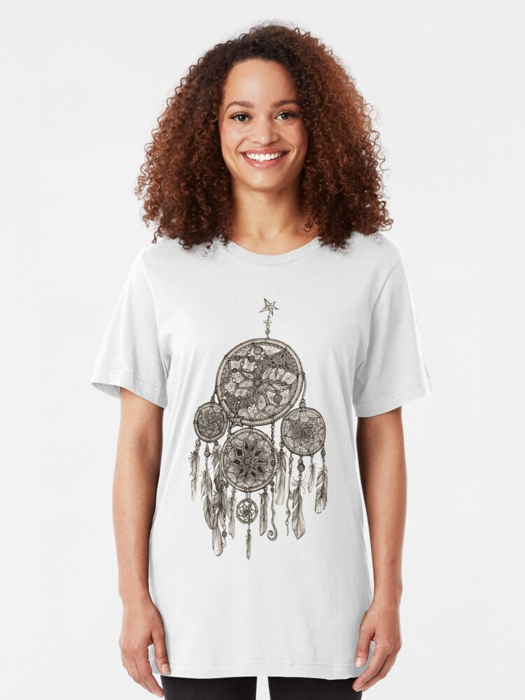 Alternate view of Dreamcatcher Slim Fit T-Shirt