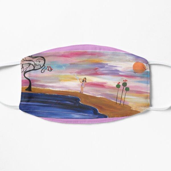 Wishing on a Daydream Face Mask Flat Mask