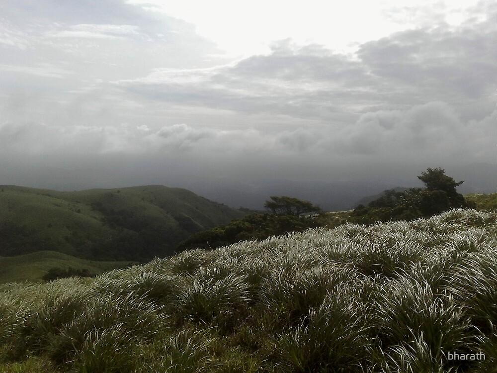 Monsoon clouds over Brahmagiri by bharath