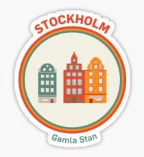 Välkommen bis Stockholm! Sticker