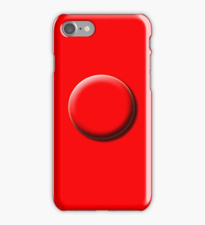 REDD BUBBBLE iPhone Case/Skin