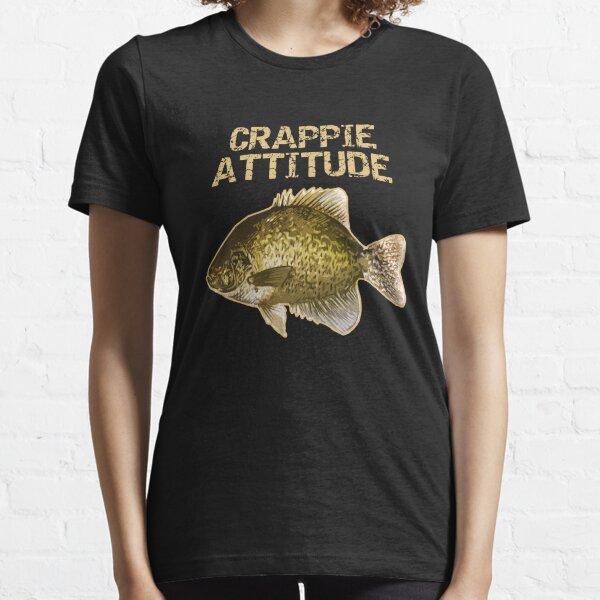 Crappy Attitude | Crappie Fishing Essential T-Shirt