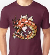Red Gyarados Retro Unisex T-Shirt