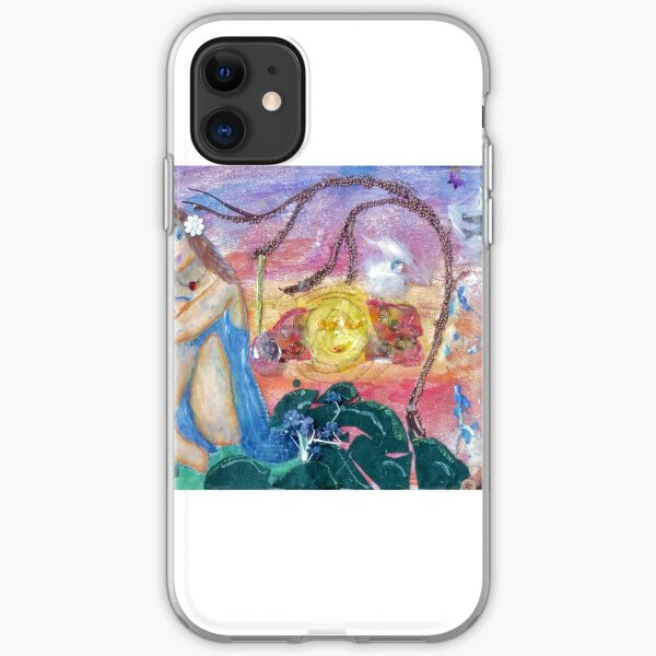 Mask for Hope iPhone Soft Case