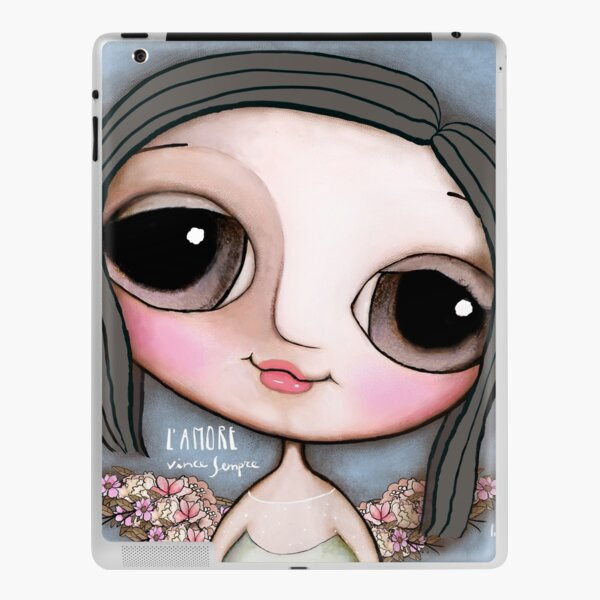 """Our Angel Maria Sole. """"L'Amore vince sempre"""" iPad Skin"""