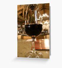 Long Island Vineyard Greeting Card