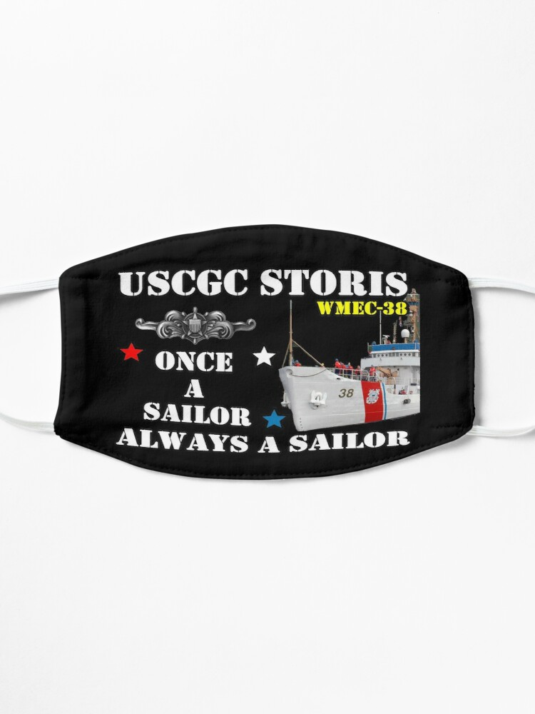 Alternate view of USCGC Storis WMEC-38 Design Mask